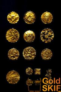 Бактрия, золото Бактрии, раскопки