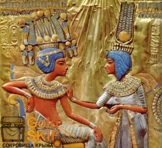 Тутанхамон, гробница, золото Египта