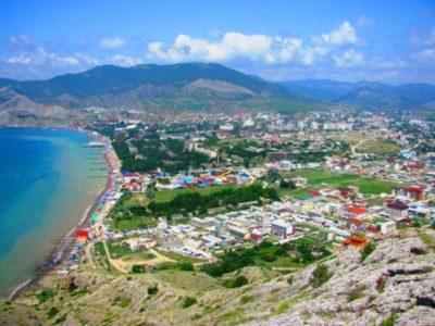 Судак - курорт на юго-восточном побережье Крыма