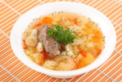 meat soup khash