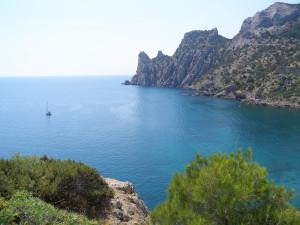 Голубая бухта - Крым