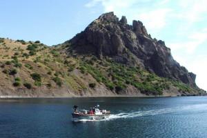 Карадаг-потухший вулкан