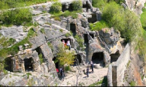Пещерный-город-Чуфут-кале