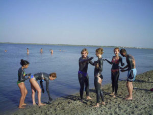 Лечебные грязи Крыма.Озеро Саки