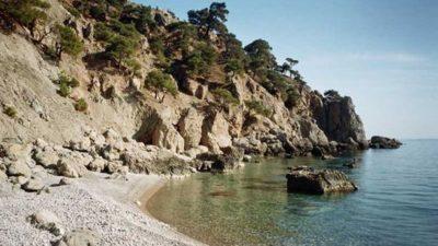 Пляж Золотой в Балаклаве