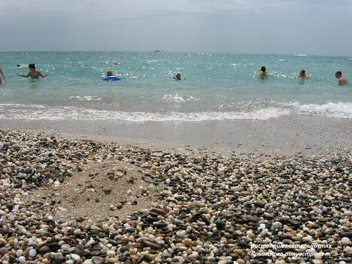 Новый пляж Крым