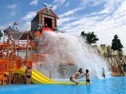 аквапарка Акваленд у Лукоморья