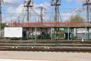 Железнодорожный узел в Джанкое
