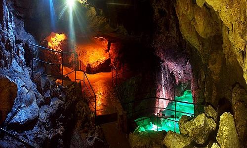 Кизил - Коба - Красная пещера в Крыму