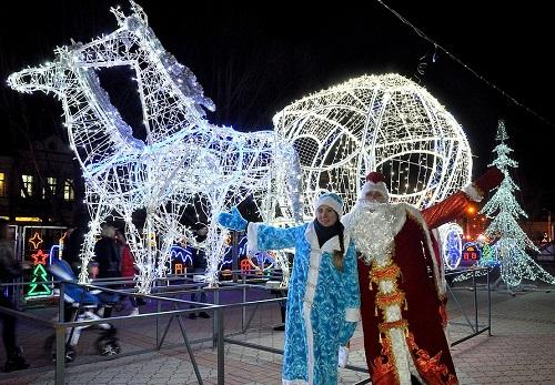 Новый год на полуострове Крым