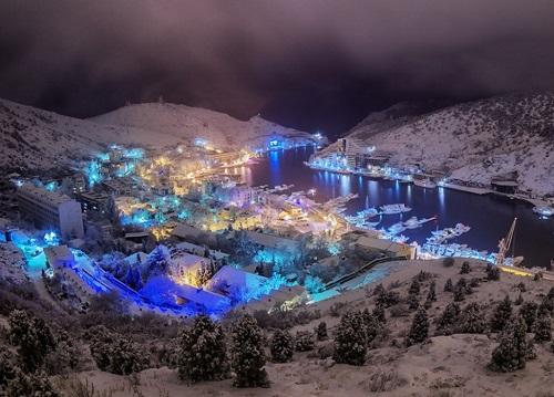 Встреча Нового 2019 года в горах Крыма