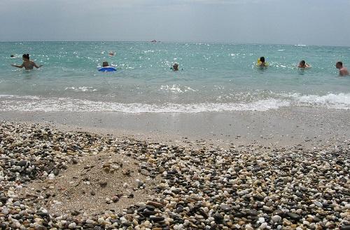 Пляжи Новый в Евпатории