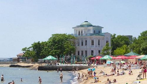 Пляж «Робинзон» - Евпатория