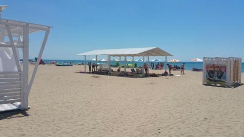 Пляж «Трёхгорка»