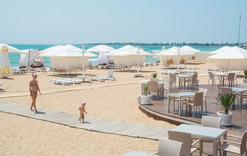 Евпатория - Пляж Лазурный берег