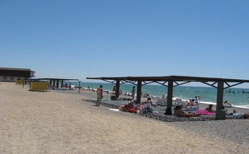Пляж Солнышко - Евпатория