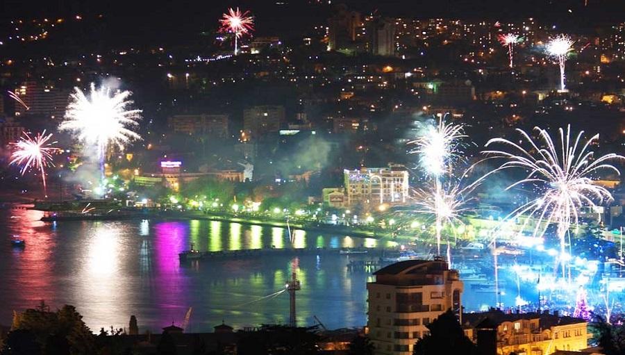 2019 год в Крыму с новогодней программой