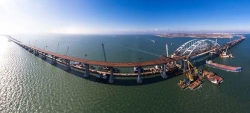 Крымский мост в 2018 году