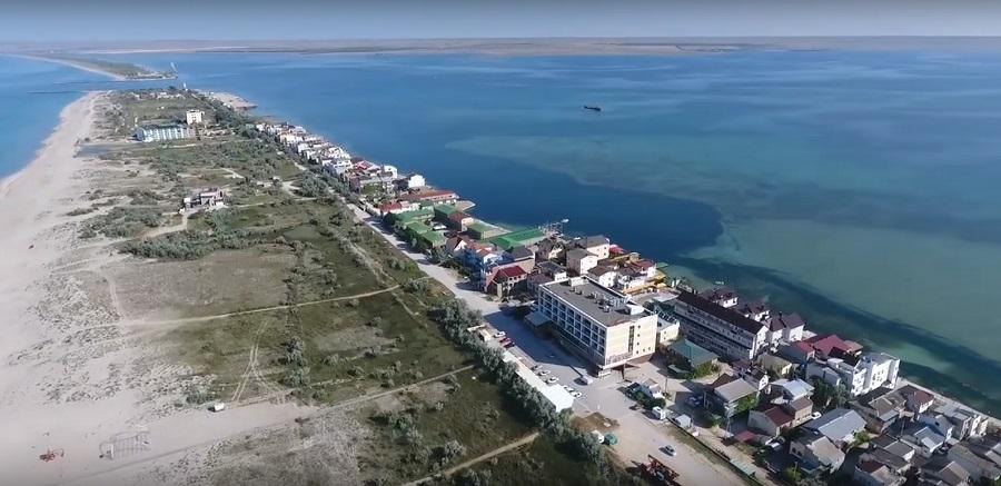 Поселок Мирный в Крыму