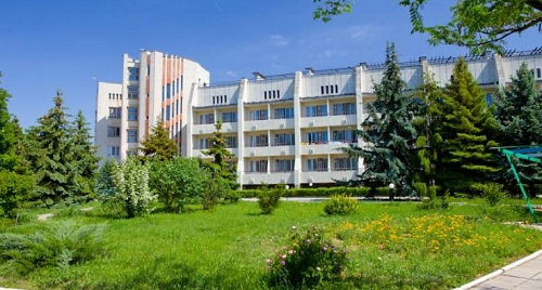 Отель Атлетика в поселке Угловое, Крым