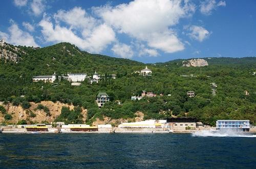 Санаторий Горный в Курпатах, Крым