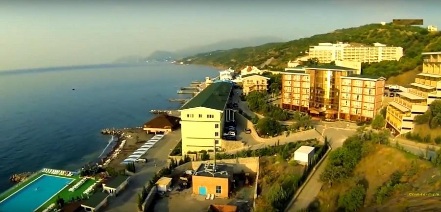 Поселок Семидворье - Крым