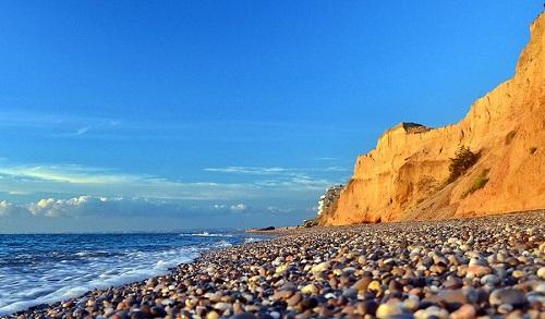 Пляж - Кача, Крым