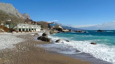 Пляж Фороса - Крым