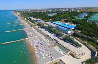 Поселок Николаевка в Крыму